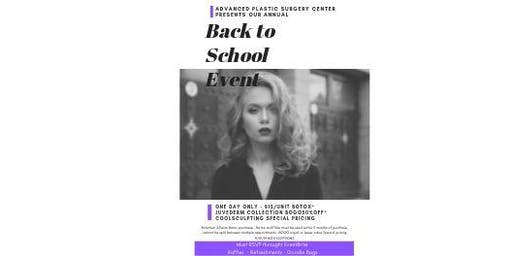 Back to School Botox Event