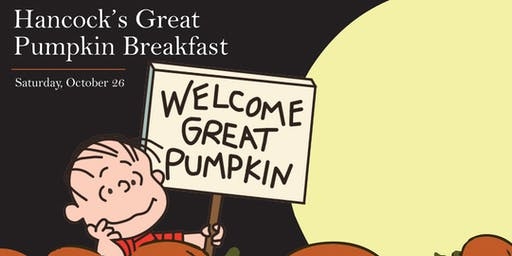 Hancock's Great Pumpkin Breakfast
