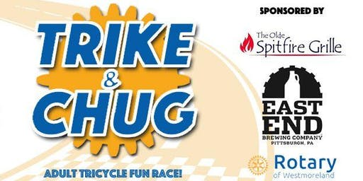 Trike & Chug 2019 - Adult Tricycle Race