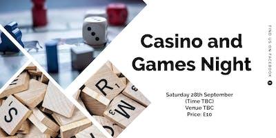 Casino and Games Night