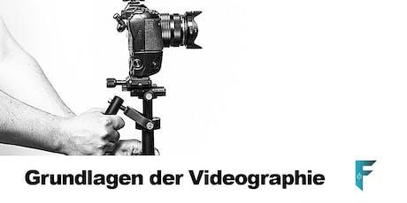 Grundlagen der Videographie tickets