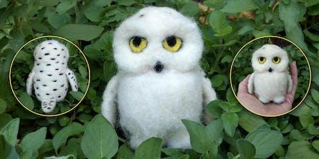 Needle Felt a Snowy Owl tickets