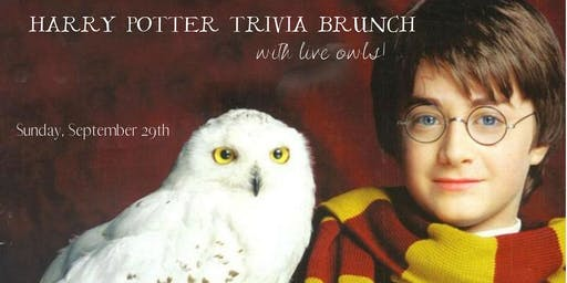 Harry Potter Trivia Brunch 9/29