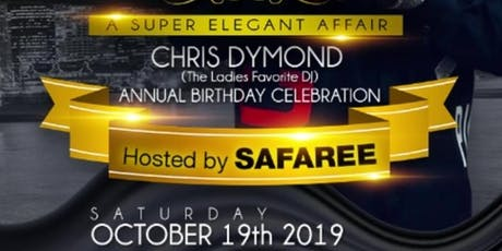 CHRIS DYMOND BIRTHDAY CELEBRATION 2019 (NEW YORK) tickets