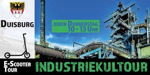 """E-Scooter Tour: """"Industriekultour"""" Duisburg"""