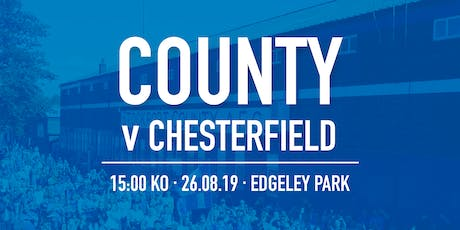 #StockportCounty vs Chesterfield F.C. tickets