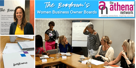 Free Taster of The Boardroom's Women Business Owner Boards tickets