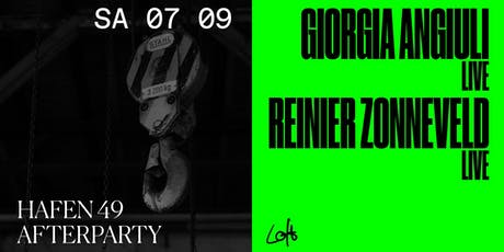 Giorgia Angiuli live, Reinier Zonneveld live im Loft Tickets