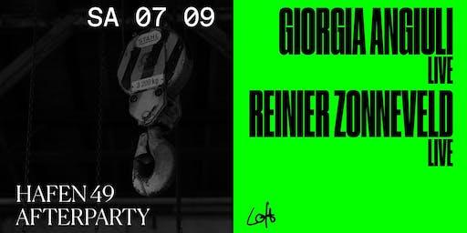 Giorgia Angiuli live, Reinier Zonneveld live im Loft