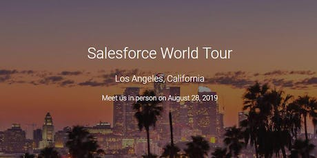 Salesforce Marketing Cloud - Los Angeles World Tour Happy Hour tickets
