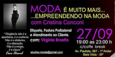 WORKSHOP:  MODA É MUITO MAIS  ...