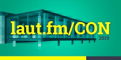 laut.fm/CON Tickets