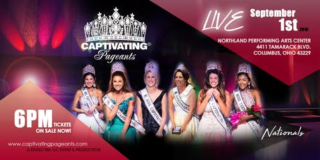 CAPTIVATING® PAGEANTS 2019 tickets