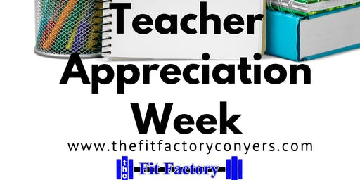 Free Teacher Appreciation Week