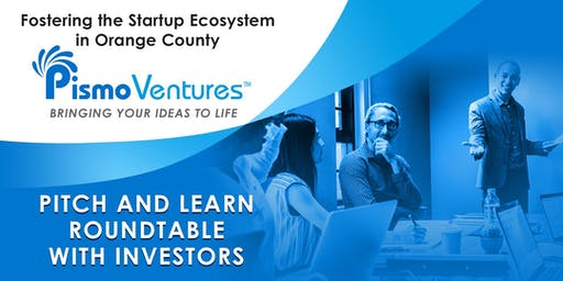 Pitch and Learn Roundtable With Investors