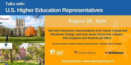 Talks with: U.S. Higher Education Representatives tickets