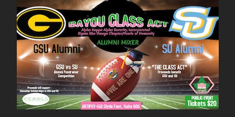 BAYOU CLASS ACT Alumni Mixer tickets