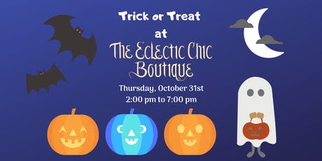 Trick or Treat at the Boutique tickets