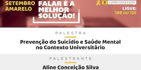 Prevenção do Suicídio e Saúde Mental no Contexto Universitário ingressos
