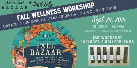 Fall Wellness Workshop: Essential Oil Roller Blends tickets