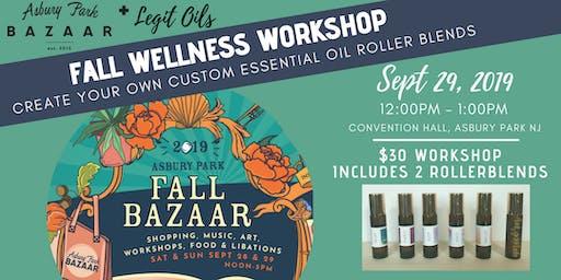 Fall Wellness Workshop: Essential Oil Roller Blends