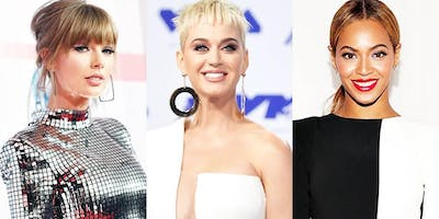 BEYONCE, KATY PERRY & TAYLOR SWIFT - THE POP DIVA DJ TRIBUTE SPECTACULAR