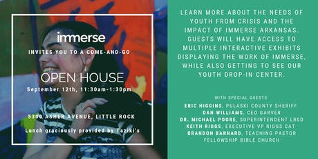 Immerse Open House tickets