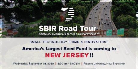 NJSBDC Tech Comm: SBIR Road Tour | Seeding America's Future Innovations tickets