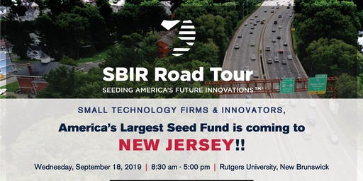 NJSBDC Tech Comm: SBIR Road Tour | Seeding America's Future Innovations