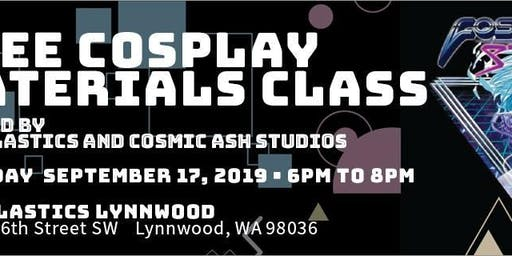 Free Cosplay Materials Class!