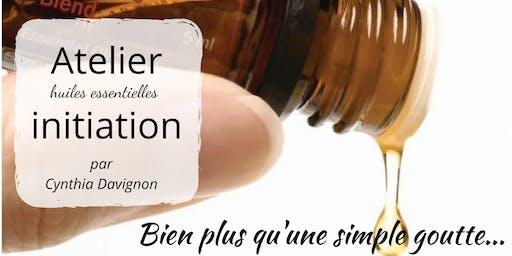 Atelier initiation aux huiles essentielles