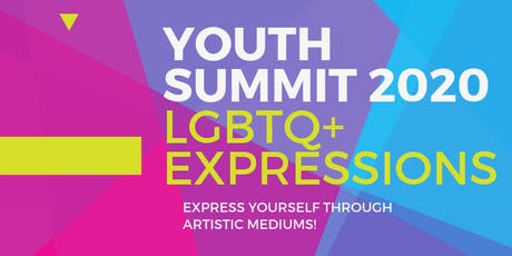Youth Summit 2020: LGBTQ+ Expressions tickets