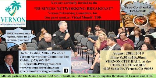 "Vernon Networking Committee presents, ""Business Networking Breakfast"""