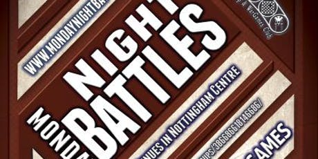 Monday Night Battles - Tabletop Miniature Gaming tickets