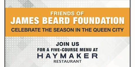 Friends Of James Beard Foundation Dinner tickets