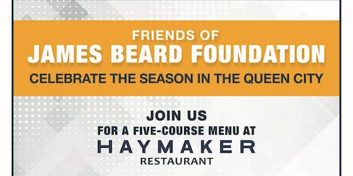 Friends Of James Beard Foundation Dinner