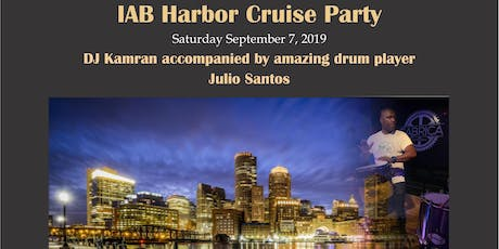 IAB Harbor Cruise Party 2019 tickets