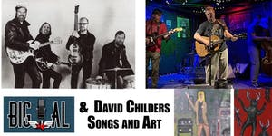 David Childers Art Opening Reception featuring Big Al