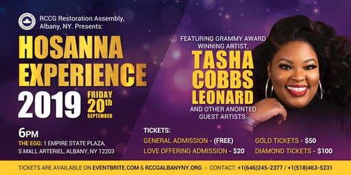 The Hosanna Experience 2019 with Tasha Cobbs Leonard