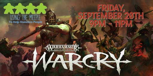Warcry Demo and Open Play