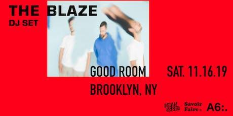 The Blaze (DJ Set) tickets