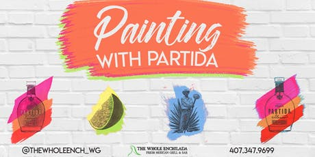 Painting With Partida • A Rooftop Painting Experience • The Whole Enchilada tickets