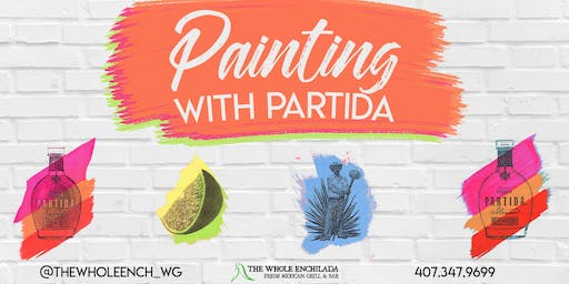 Painting With Partida • A Rooftop Painting Experience • The Whole Enchilada