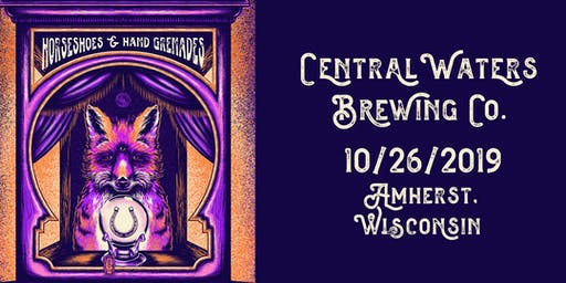 Horseshoes Halloween at Central Waters Brewery with Pat Ferguson