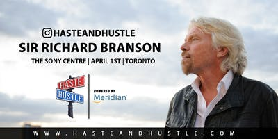 RICHARD BRANSON LIVE @ HASTE AND HUSTLE 2020