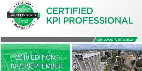Certified KPI Professional-September 2019 tickets