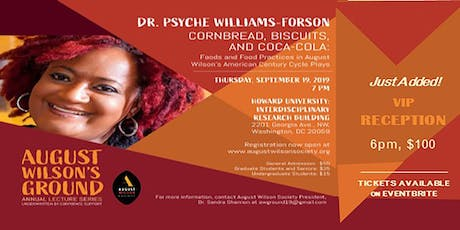 August Wilson's Ground Annual Lecture Series Event tickets