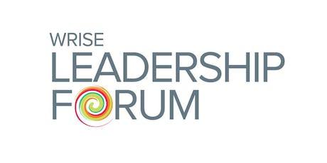 2020 WRISE Leadership Forum tickets