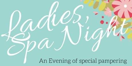 Ladies Spa Night tickets
