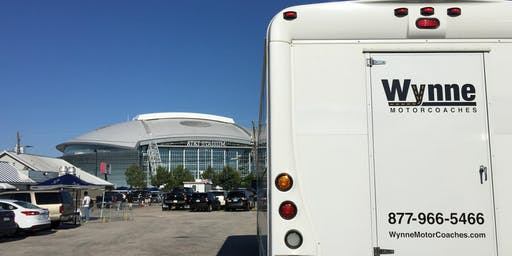 Dallas Cowboys Tailgate and Transportation from Downtown Dallas - NY Giants